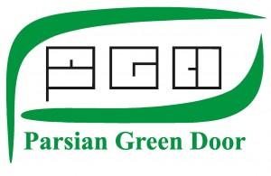 لوگوی درب سبز پارسیان