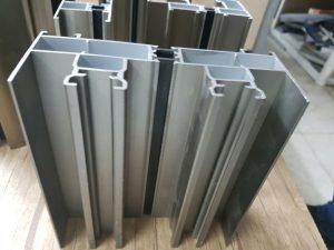 درب و پنجره دو جداره اختصاصی آلومینیومی
